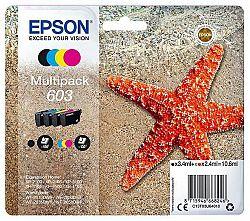 Cartridge Epson 603, 150/130 stran - Cmyk (C13T03U64010...