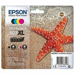 Cartridge Epson T603 XL, 350/500 stran, Cmyk (C13T03A64010...