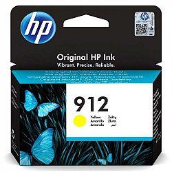 Cartridge HP 912, 315 stran žltá (3Yl79ae...