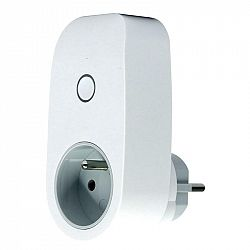Chytrá zásuvka iQtech SmartLife SH1100, WiFi biela (Iqtsh1100...