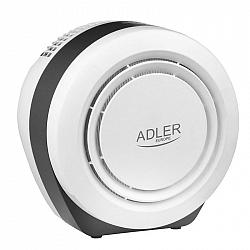 Čistička vzduchu Adler AD7961... Výkon 150 m3 / h umožňuje rychlé čištění vzduchu v místnostech až do 20m2.