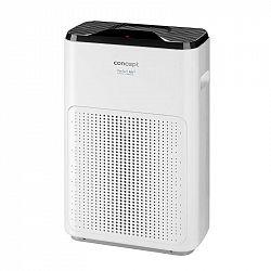 Čistička vzduchu Concept Perfect air CA1030 čierna/biela... Senzor znečištění, 4násobná filtrace, mobilní aplikace.
