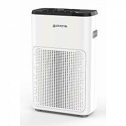 Čistička vzduchu Guzzanti GZ 993 biela... Vhodná pro místnosti o velikosti – 14-24 m2, PM 2.5 – odstraňuje částice o velikosti 2,5 mikronu s účinností