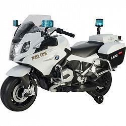 Elektrická motorka Buddy Toys BEC 6021  biely...