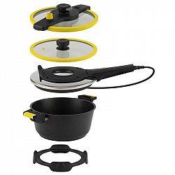 Elektrický hrniec na pečenie Remoska Tria T41/44 Tria Yellow... Tria Yellow multifunkční kuchyňské zařízení, objem pro vaření - 4,5 l, objem pro pečen