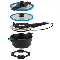 Elektrický hrniec na pečenie Remoska Tria T41/46 Tria Blue... Tria Blue multifunkční kuchyňské zařízení, objem pro vaření - 4,5 l, objem pro pečení -