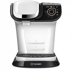 Espresso Bosch Tassimo My Way TAS6504 biele... NTELLIBREW patentovaná technologie čárových kódů, nádržka na vodu 1,3 l, individuální nastavení nápojů.