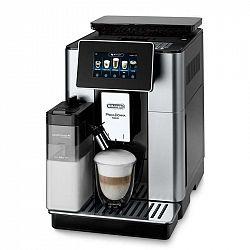 Espresso DeLonghi Ecam 610.55 SB čierne/strieborn... Tlak 19 barů, dotykový displej, systém LatteCrema, aplikace Coffee Link.