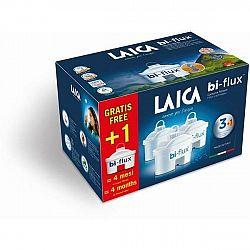 Filter na vodu Laica Bi-flux 3 + 1 ks (F3+1M... Filtry Laica redukují vodní kámen, chlór, měď, olovo, zinek, pesticidy, herbicidy a nepříjemné pachy.