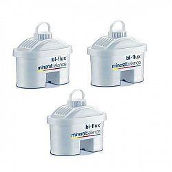 Filter na vodu Laica Bi-flux Mineralbalance, 3ks biely (M3M... Náhradní filtrační patrony s pětistupňovou technologií jsou určenypro filtrační konvice