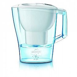 Filtrácia vody Brita Aluna Cool Memo biela... Součástí balení je nový typ filtru Maxtra+ Pure Performance, celkový objem konvice je 2,4 l a objem přef