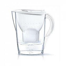 Filtrácia vody Brita Marella Cool Memo biela... Součástí balení je nový typ filtru Maxtra+ Pure Performance, celkový objem konvice je 2,4 l a objem př