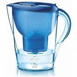 Filtrácia vody Brita Marella XL Memo modr... Součástí balení je nový typ filtru Maxtra+ Pure Performance, celkový objem konvice je 3,5 l a objem přefi