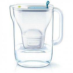 Filtrácia vody Brita Style 2,4 l modr... Součástí balení je nový typ filtru Maxtra+ Pure Performance, celkový objem konvice je 2,4 l a objem přefiltro