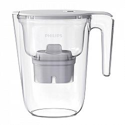 Filtrácia vody Philips Awp2935wht/10... Objem konvice 2,6 l, kapacita filtrované vody 1,5 l, mikrofiltrace, digitální časovač, vejde se do dvířek ledn