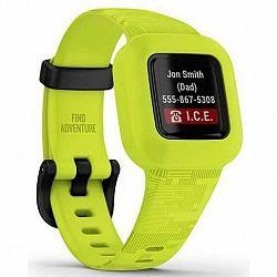 Fitness náramok Garmin vívofit junior3 - Green (010-02441-00... Fitness náramek barevný ,  krokoměr, budík,  čas,  krokoměr,  měření vzdálenosti,  spá