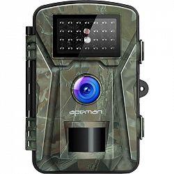 Fotopasca Apeman H45 zelen... + dárek Fotopast, rozlišení foto/video 12 Mpx/1920 x1080/30fps, 2,4