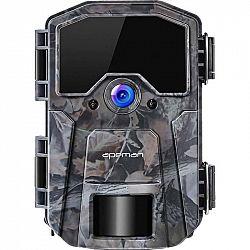 Fotopasca Apeman H55 siv... + dárek Fotopast, rozlišení foto/video 16 Mpx/1080P, 2