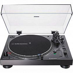Gramofón Audio-technica AT-Lp120xbt-USB čierny... Gramofon, 33/45/78 rpm, Bluetooth připojení, manuální ovládání, přímy pohon, ripování na USB, audio