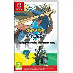 Hra Nintendo Switch Pokémon Sword + Expansion Pass (NSS571... Hra Nintendo Switch