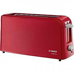 Hriankovač Bosch Tat3a004 červen... Dlouhá štěrbina pro celý krajíc chleba, zařízení na zvedání toastů