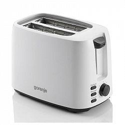 Hriankovač Gorenje Black and white T900lbw čierny/biely... Příkon 850 W, automatické vysunutí toastu.