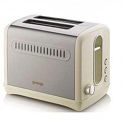 Hriankovač Gorenje T1100cli... Výkon ohřevu: 950 W, počet úrovní ohřevu: 6, termostat, automatické vysunutí toastu.