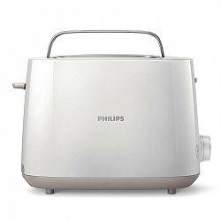 Hriankovač Philips Daily Collection HD2581/00 biely... 8 stupňů opékání, vestavěný ohřívač housek, rohlíků, funkce pro bezpečné zdvihnutí malých kousk