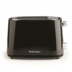 Hriankovač Rohnson R-210B čierny... Centrování, bezpečnostní pojistka, regulace nastavení intenzity pečení.