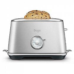 Hriankovač Sage Sta735bss nerez... Toastovací otvory pro 2 toasty, Spuštění/zdvih toastu manuální, 6 stupňů opečení, Funkce rozmrazování (tlačítko Fro