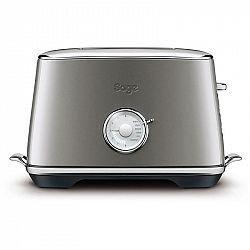 Hriankovač Sage Sta735shy Smoked Hickory siv... Toastovací otvory pro 2 toasty, Spuštění/zdvih toastu manuální, 6 stupňů opečení, Funkce rozmrazování