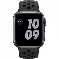 Inteligentné hodinky Apple Watch Nike Series 6 GPS 44mm pouzdro z... Chytré hodinky Retina ,  akcelerometer, barometr, gyroskop, kompas, krokoměr, sen