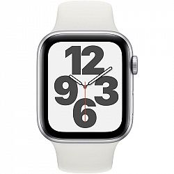 Inteligentné hodinky Apple Watch SE GPS 44mm pouzdro ze stříbrného... Chytré hodinky Retina ,  akcelerometer, barometr, gyroskop, kompas, krokoměr, se