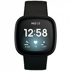 Inteligentné hodinky Fitbit Versa 3 - Black/Black Aluminum... Chytré hodinky ,  akcelerometer, gyroskop, krokoměr, senzor okolního světla, senzor srde