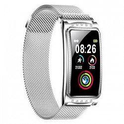 Inteligentné hodinky Immax Crystal Fit strieborné (09034... Chytré hodinky 1.08