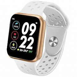 Inteligentné hodinky Immax SW13 Pro biele/zlaté (09036... Chytré hodinky 1.3