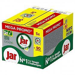 Kapsle do myčky Jar Platinum Yellow Box, 5 × 18 ks... I o ty nejvíce špinavé talíře, hrnce nebo příbory se spolehlivě postará myčka v kombinaci s kval
