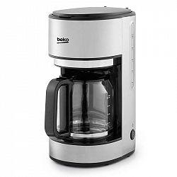 Kávovar Beko Cfm6350i nerez... Překapávací kávovar, příkon 1000 W, kapacita 10 šálků, skleněná konvička, nerez, automatické vypnutí.