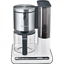 Kávovar Bosch Styline TKA8631 biely/nerez (435192... 10 šálků, příkon 1160 W, funkce drip stop, regulace a udržování teploty, systém pro optimální aro