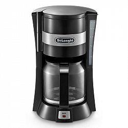 Kávovar DeLonghi ICM 15210.1 čierny... Příkon 900 W, skleněná konvice o objemu 1,25 l, udržování teploty po dovaření.