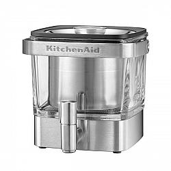 Kávovar KitchenAid 5Kcm4212sx nerez... Kávovar na přípravu kávy za studena.Vychutnejte si studenou kávu stáčenou přímo z lednice. Čerstvě mletou kávu