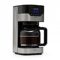 Kávovar Klarstein Arabica čierny/strieborn... Velká kapacita: kapacita 1,5 litru až do 15 šálků kávy, LCD diplej, možnost výběru intenzity kávy.