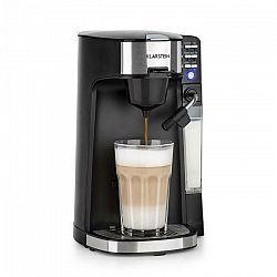 Kávovar Klarstein Baristomat... 2v1 plně automatický kávovar: káva, čaj, mléčná pěna. 6 programů.