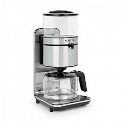 Kávovar Klarstein Soulmate čierny... Výkon 1800 W na průtok vody s teplotou až 92 ° C, objem 1,25 l.