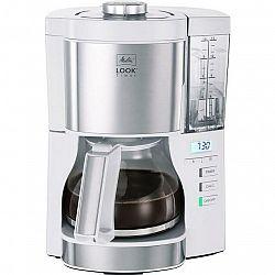Kávovar Melitta Look V Timer biely... Funkce časovače, LED displej s hodinami, funkce DRIP STOP.