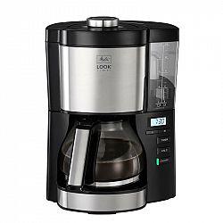 Kávovar Melitta Look V Timer čierny... Funkce časovače, LED displej s hodinami, funkce DRIP STOP.