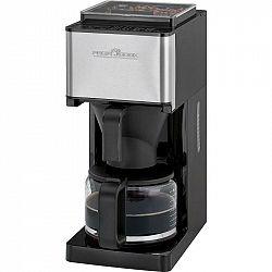 Kávovar Profi Cook PC-KA 1138 čierny/nerez... Kávovar s integrovaným mlýnkem, kapacita vodní nádoby 1,25 l, regulace síly a chuti kávy (stupeň 1 – 14)