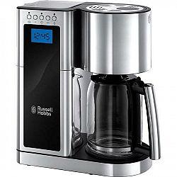 Kávovar Russell Hobbs Elegance 23370-56 strieborn... Nastavitelný časovač, technologie rychlého uvaření, kapacita karafy 1,25 l.