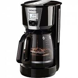 Kávovar Sencor SCE 5070BK čierny... Nádoba o objemu 1,8 l, skleněná konvice, tepelně izolovaná rukojeť konvice, vyjímatelný omyvatelný trvalý filtr, p