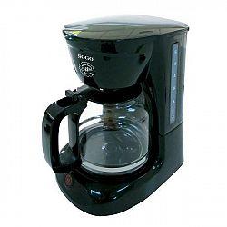 Kávovar Sogo SS-5640 čierny... Příkon 950 W, kapacita 1,8 l, skleněná konvička z odolného varného skla.